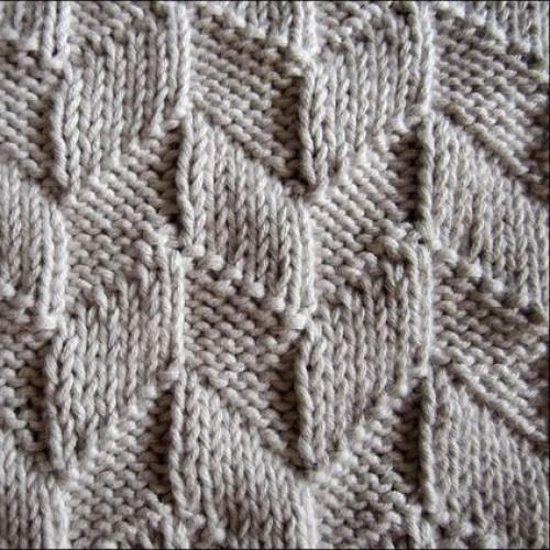 Parallelograms Baby Blanket - Free Pattern