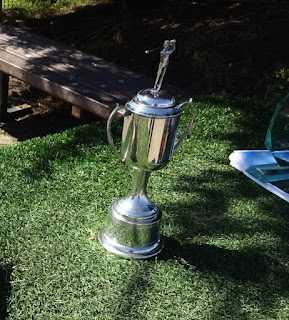 MiniLinks US Open golf trophy