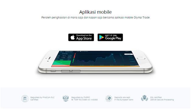 Aplikasi Mobile Binary Option Olymp Trade Memudahkan Anda Melakukan Perdagangan di Mana Saja