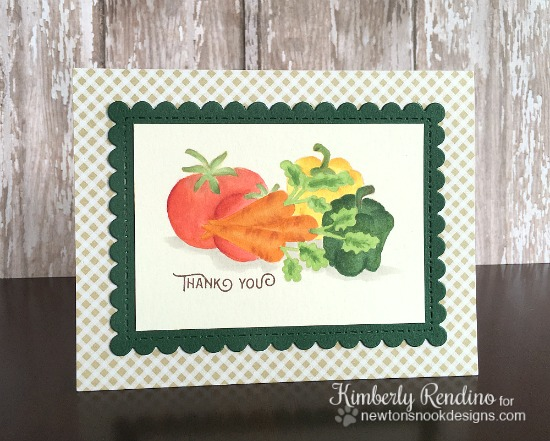 vegetable garden | cardmaking | papercraft | newton's nook designs | kimpletekreativity.blogspot.com