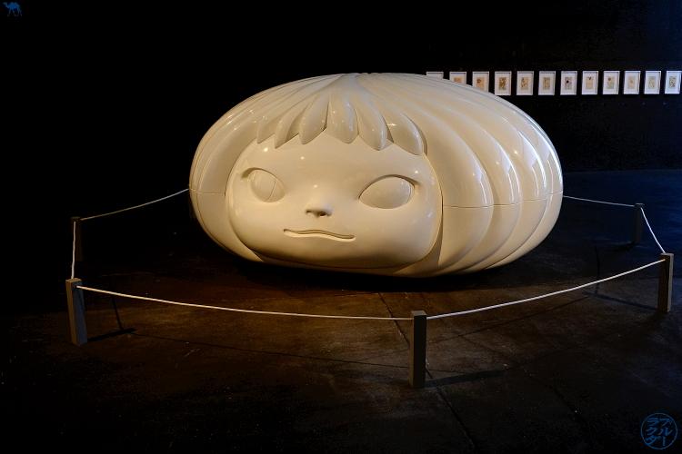 Le Chameau Bleu - Exposition du Aomori Museum of Art - Tohoku Voyage au Japon