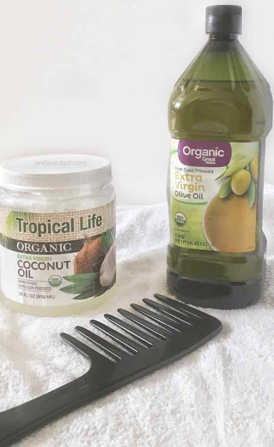 Penetrating Natural Oils For Relaxed Hair | A Relaxed Gal