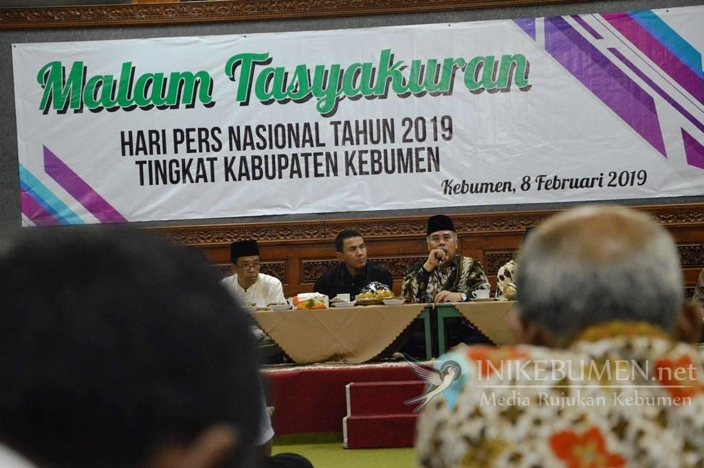 Peringati HPN, Gus Yazid Minta Wartawan di Kebumen Sebarkan Berita Haq
