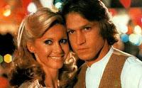 Michel Beck con Olivia Newton