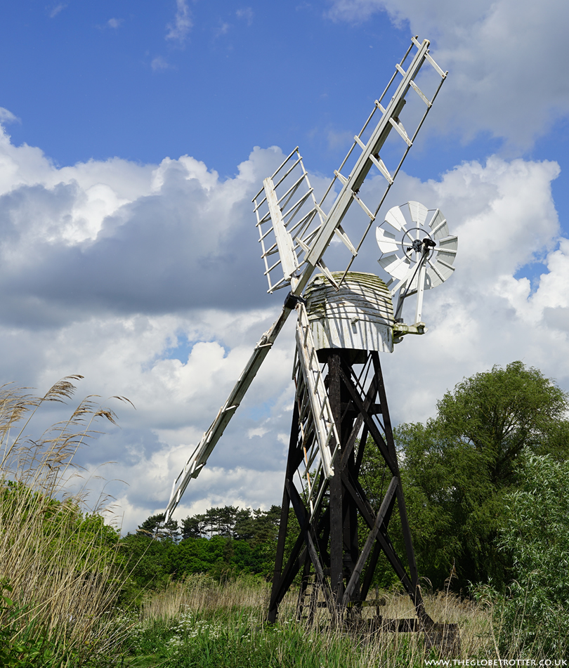 Drainage Mill near How Hill House