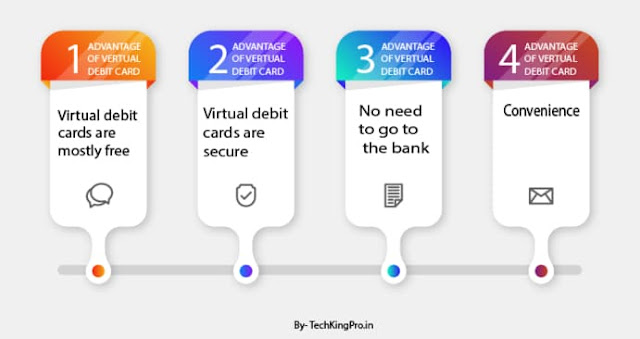 Advantages of using a virtual debit card in India