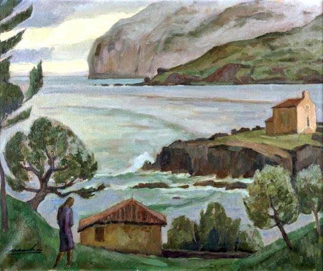 Antonio Santafé Lagarcha, Paisajistas españoles, Paisajes de Santafé Lagarcha, Pintor español, Pintores de Bilbao, Santafé Lagarcha, Pintor Santafé Lagarcha