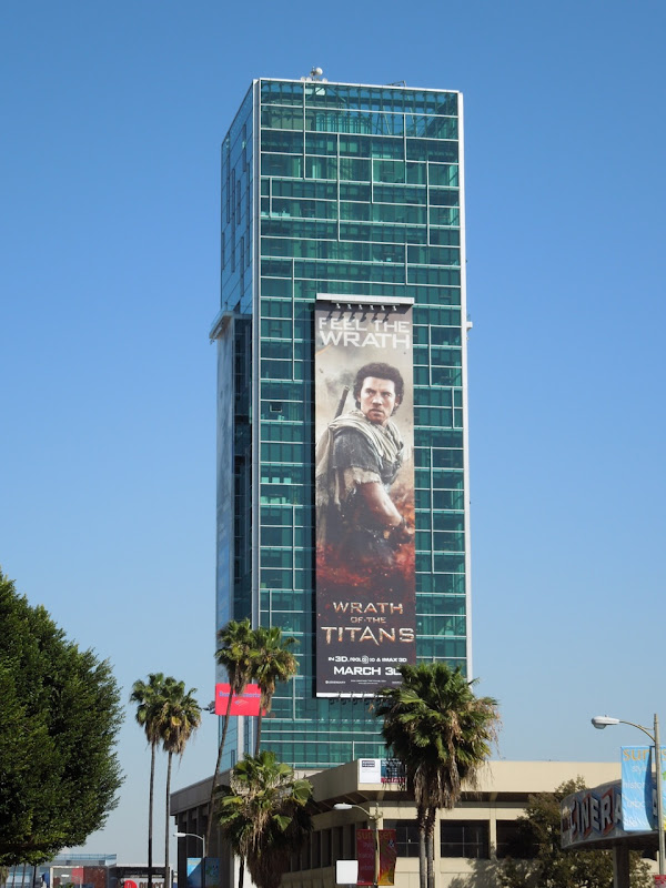 Wrath of the Titans Perseus billboard