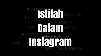 Istilah Dalam Instagram