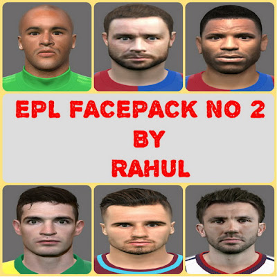 PES 2016 EPL FACEPACK NO 2 by RAHUL