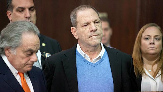 Harvey Weinstein se declara inocente de los cargos de violación