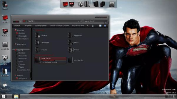 PC SkinPack Superman Return