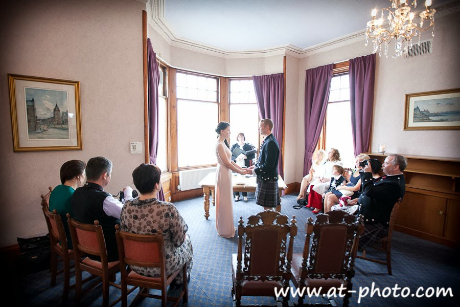 Asya Kevin Got Married At South Queensferry Registry Office