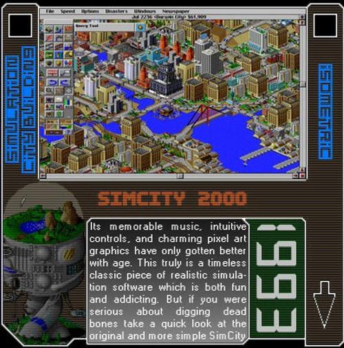 1993 - SimCity 2000