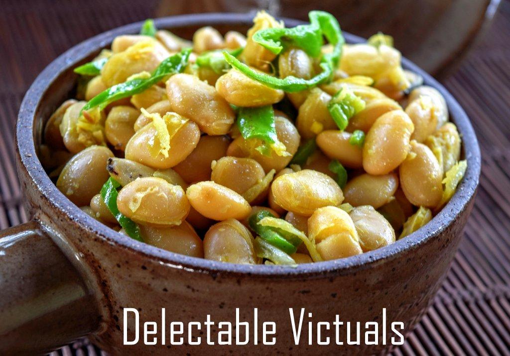 Lab-Lab Beans aka Hyacinth Beans Chundal sundal navarathri