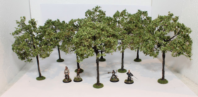 Tutorial: How to make wargaming trees - Tale of Painters
