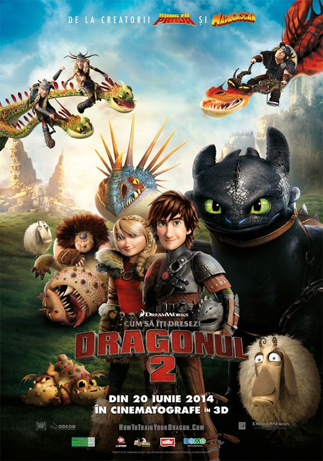 How to Train Your Dragon 2 (Film 3D 2014) - Cum să îţi dresezi dragonul 2