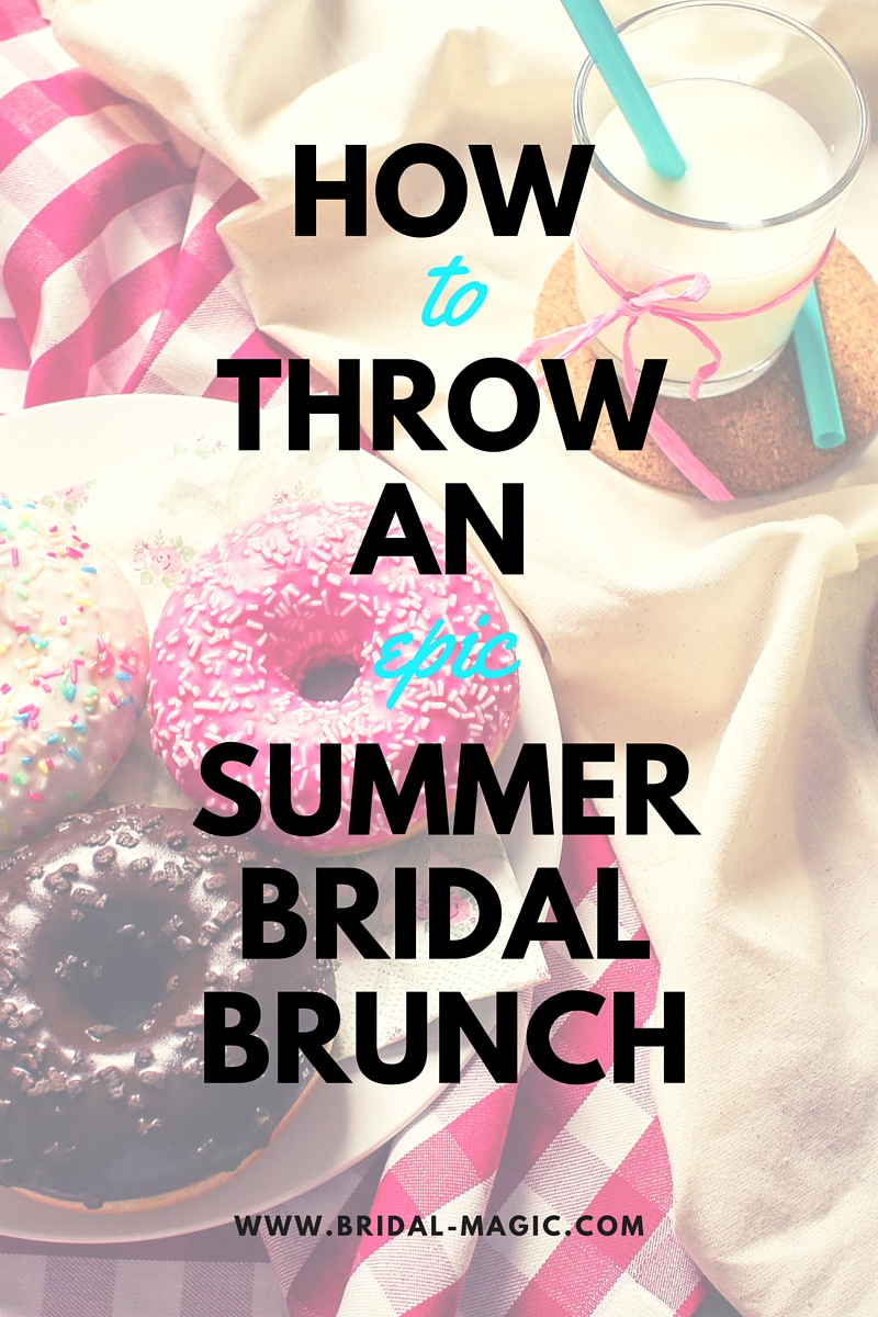 How to throw an epic summer bridal brunch