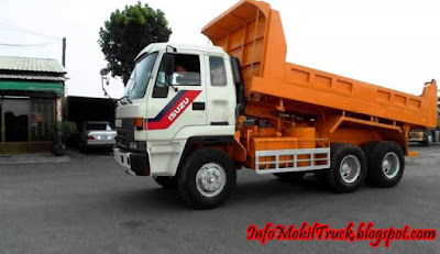 Gambar dump truk isuzu