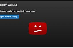 Cara Membuka Video Age Restriction di Youtube Android