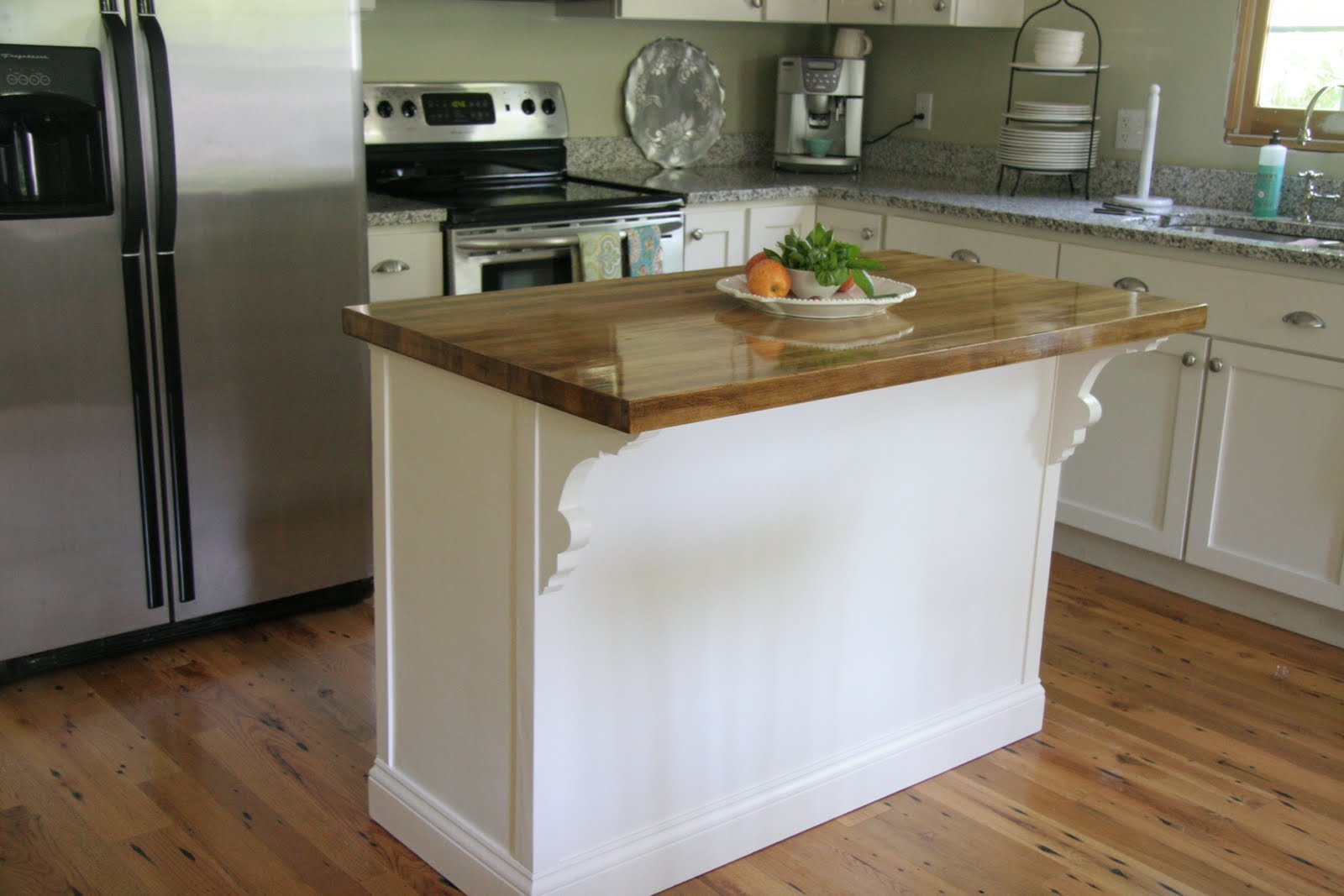 kitchen island corbels cass house island completed and kitchen tour 1879