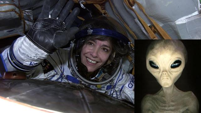 La versada astronauta francesa pudo ser testigo de algo terrible