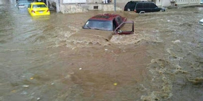 الأرصاد تحذر من تعرض بعض المحافظات لسيول قوية مساء اليوم