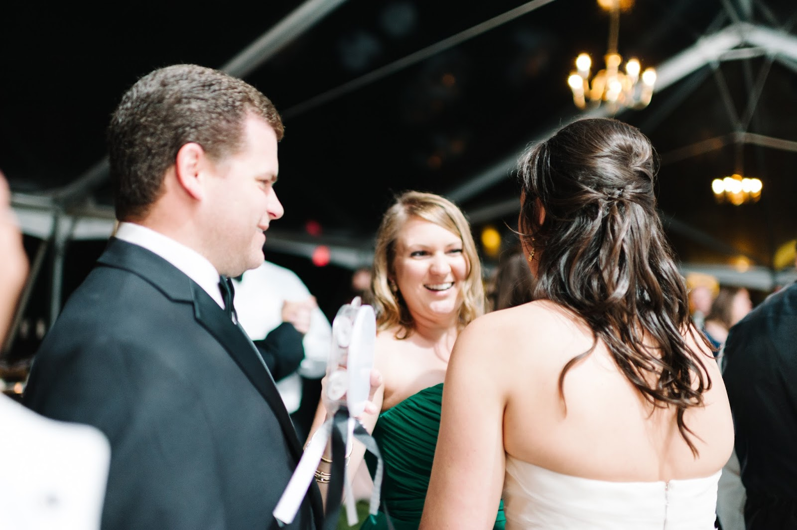 Olive and Tate Black and White Formal Southern Wedding
