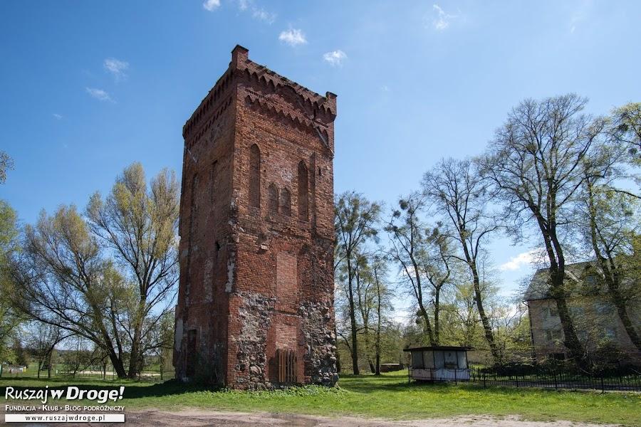 Najstarszy zabytek na Warmii - wieża zamkowa w Braniewie