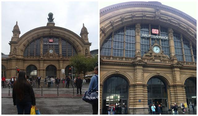 Frankfurt Hauptbahnhof (Estação Principal de Trens)
