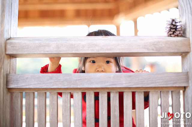 1歳バースデイフォトのロケーション撮影