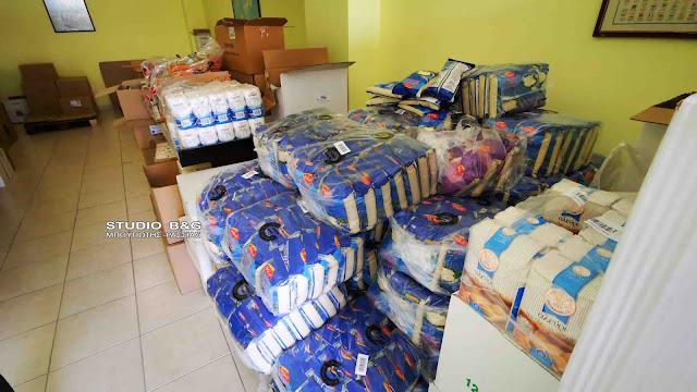 5η δράση διανομής δωρεάν τροφίμων από το Δήμο Ναυπλιέων σε ευπαθείς ομάδες