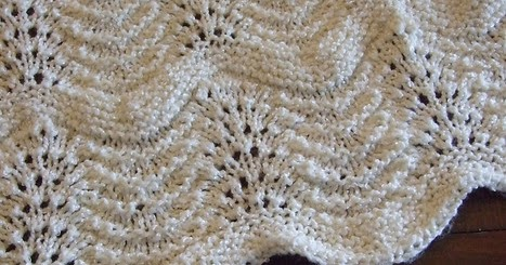 knitnscribble.com: Knit and crochet heirloom baby blanket ...