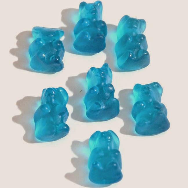 Blue Gummy Bear Smoothie from Jamba Juice