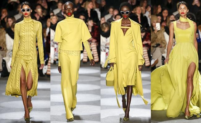 Best of New York Fashion week fall 2016.Christian Siriano fall 2016.