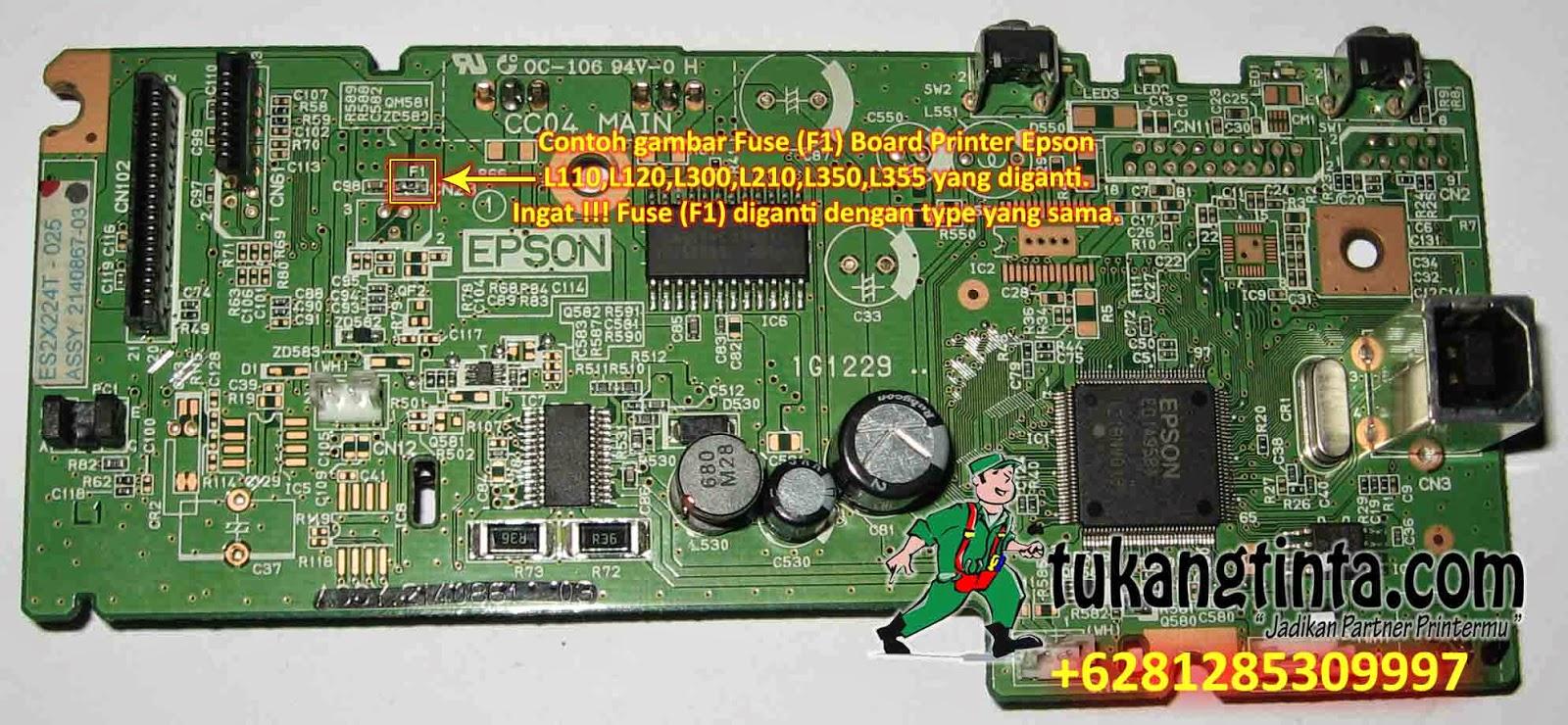 Pusat Modifikasi Printer Infus Cara Service Printer Epson L110 L120