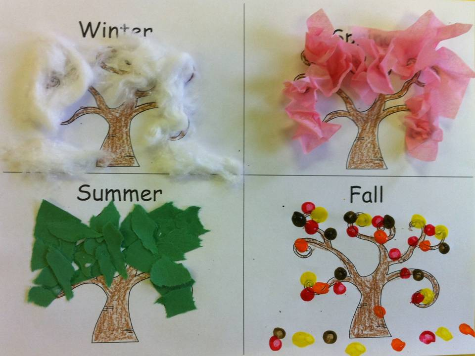 Seasons and a Freebie | Kindergarten Korner