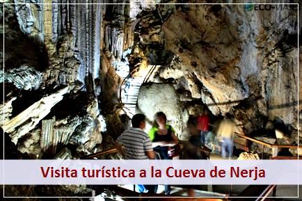 Podrá realizar la visita turística a la Cueva de Nerja, catedral natural de la Costa del Sol