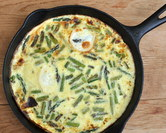 Never-the-Same-Twice Vegetable Frittata