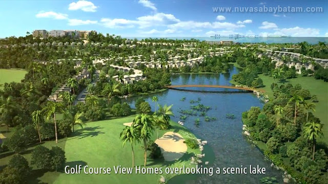 Nuvasa Bay Batam Golf Course View Homes