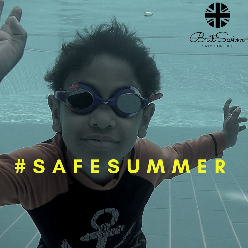 Best swimming lessons safety Muscat BritSwim Oman