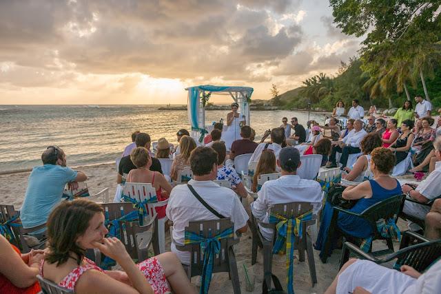guadeloupe plage cérémonie mariage
