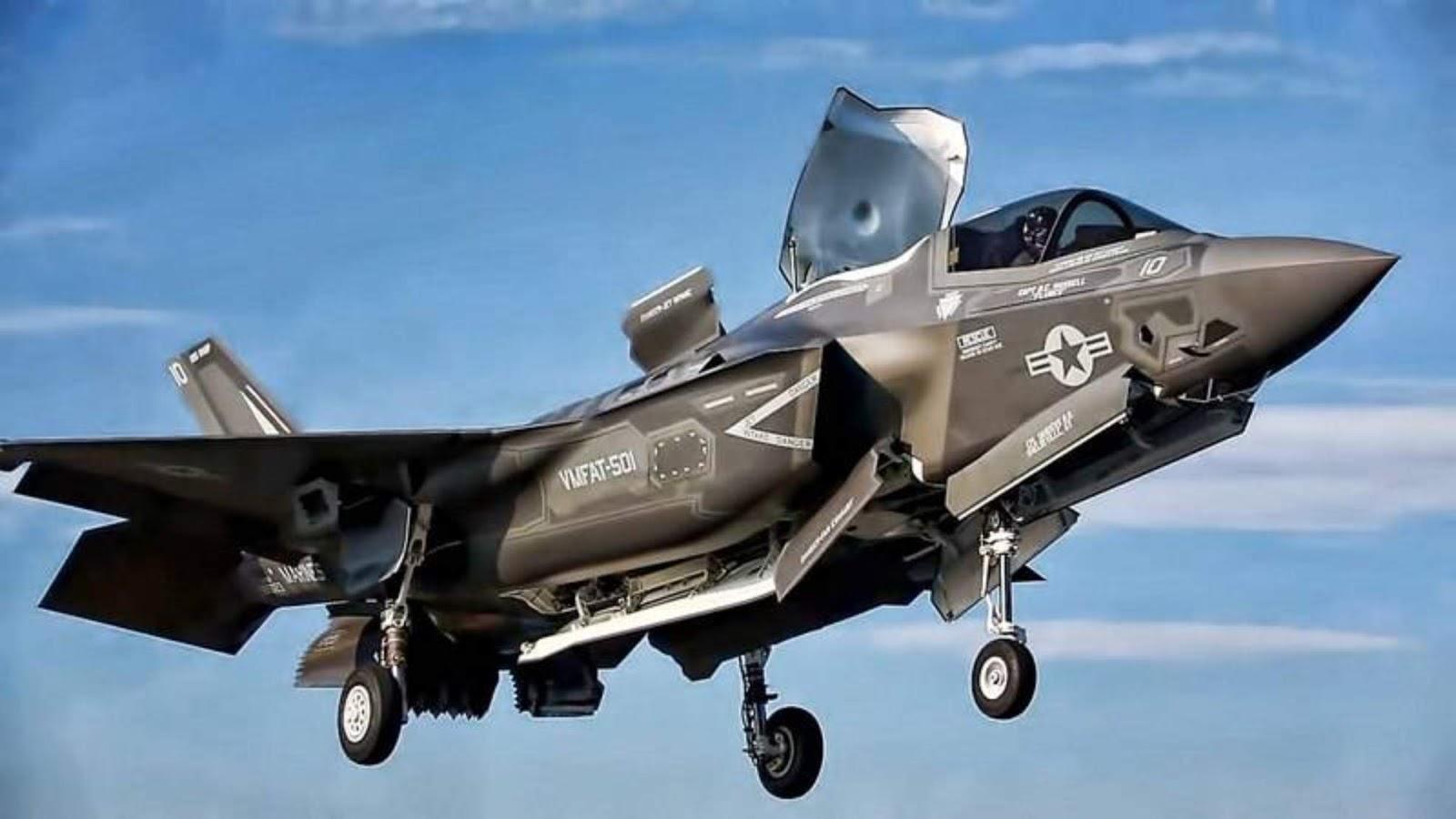 Pesawat generasi kelima F-35B jatuh di South Carolina AS