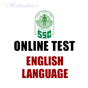 SSC CGL Online Test For English Language : 01 - Sep - 17