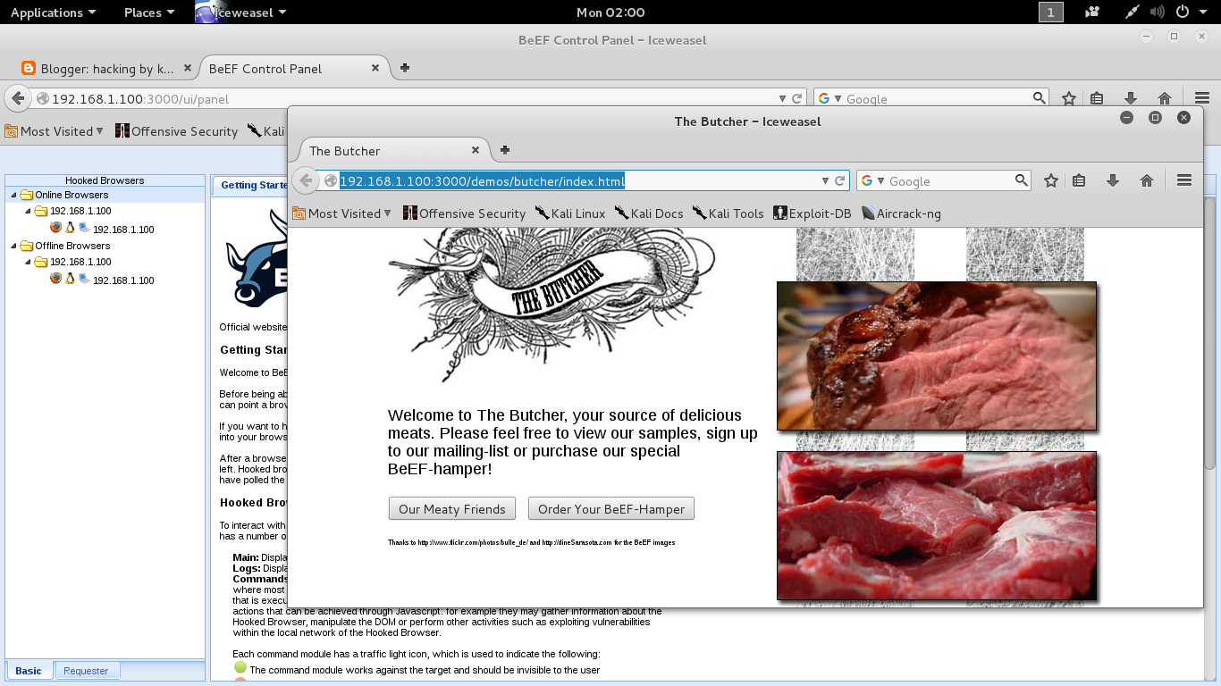 Hacking by kali linux hack gmail id using beef xss in linux so lets start the hacking ccuart Images