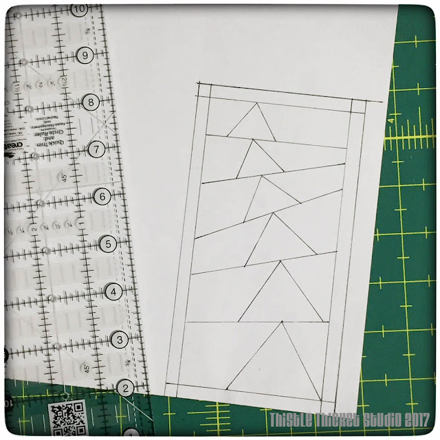 thistle thicket studio, paper piecing patterns, flying geese, sewing, quilting
