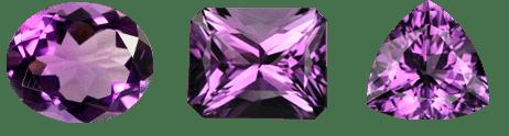 Gemas de amatista  - piedra preciosa - foro de minerales
