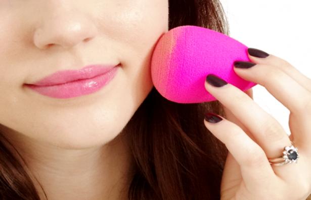 comparação esponjas de maquiagem