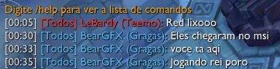 Players que dão hate em times br.