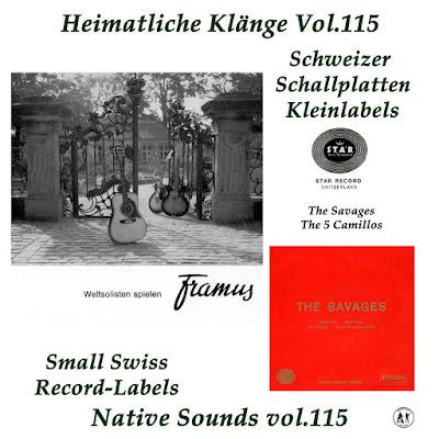 The Savages & The Camillos  (Heimatliche Klaenge Vol.115)